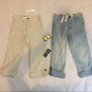 NWT Bundle if Baby Gap pants Size 5T